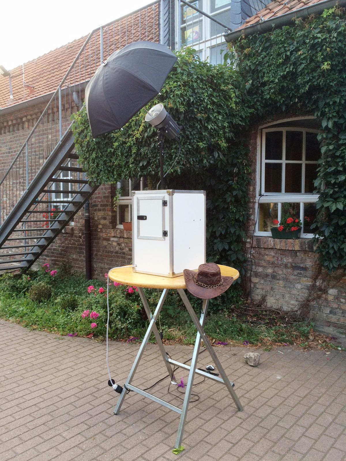 Photobooth mit Druck